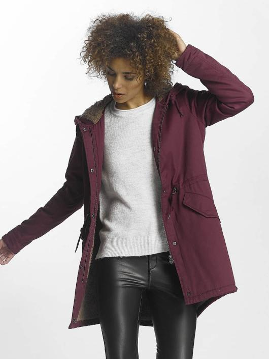 Only Winter Jacket onlFavourite red