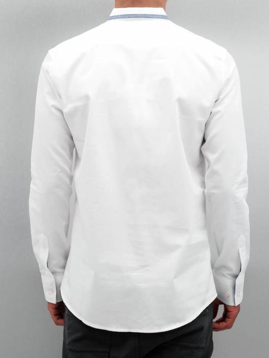 Open Košile Flower bílý
