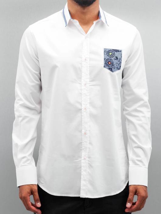 Overhemd Wit.Open Bovenstuk Overhemd Flower In Wit 283270