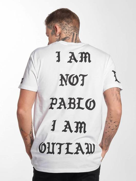 Outlaw T-Shirt Pablo white