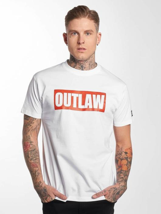 Outlaw T-Shirt Outlaw Brand white
