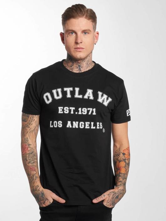 Outlaw t-shirt Outlaw Baseball zwart