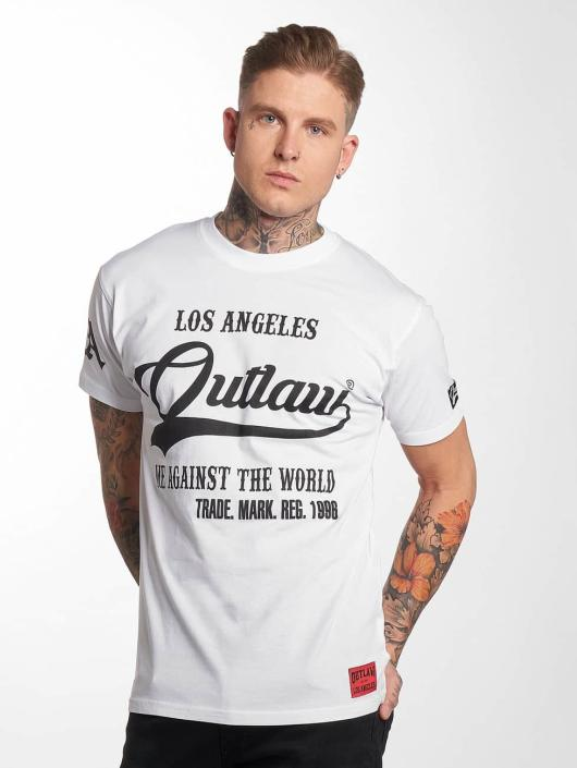 Outlaw T-shirts Me against the world hvid