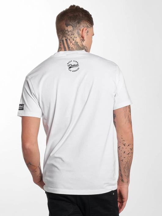Outlaw T-Shirty Outlaw Brand bialy