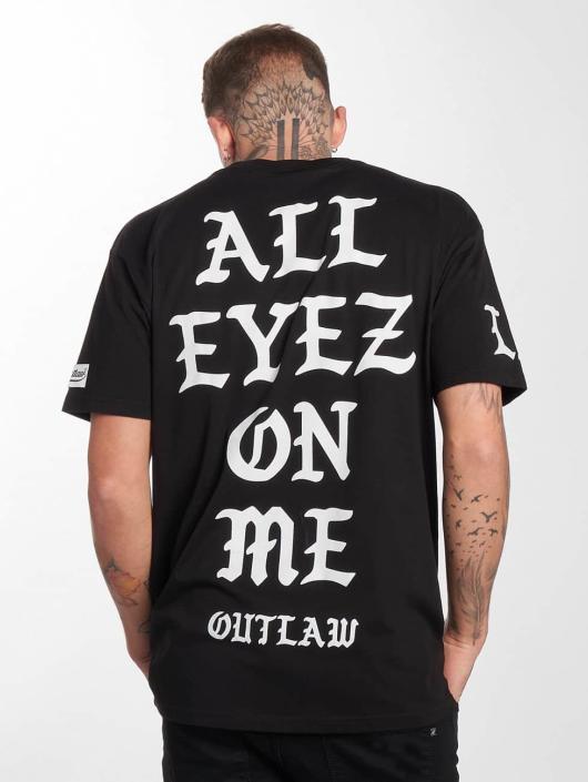"Outlaw T-Shirty ""Outlaw LA"" czarny"