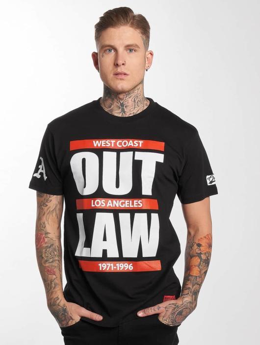 Outlaw T-Shirty Outlaw Run czarny