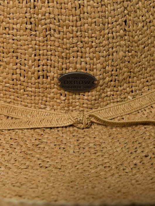 Oxbow Hat Entiva 2-Tone Straw Floppy beige