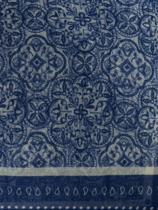 Oxbow Huivit / kaulaliinat Quadrato Printed sininen