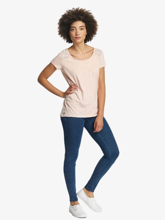 Oxbow T-Shirt Thea Crinkle rosa