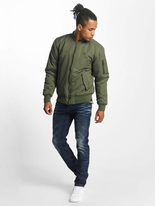 Paris Premium Куртка-бомбардир Basic оливковый