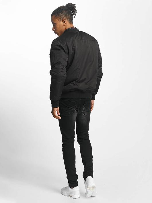 Paris Premium Куртка-бомбардир Basic черный