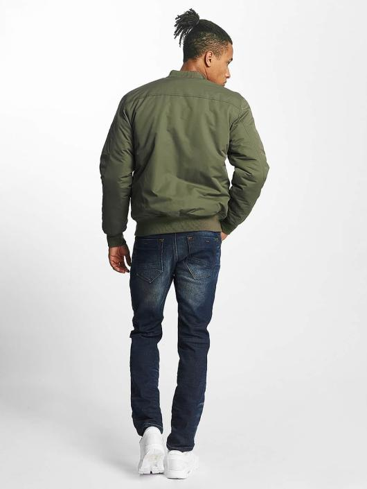 Paris Premium Bomber jacket Basic olive