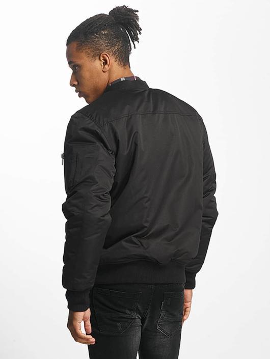 Paris Premium Bomberjacke Basic schwarz