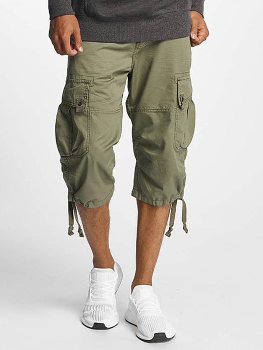 Paris Premium Shorts Cargo olive