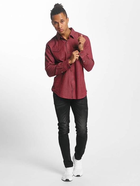 Paris Premium Skjorte Alakea rød