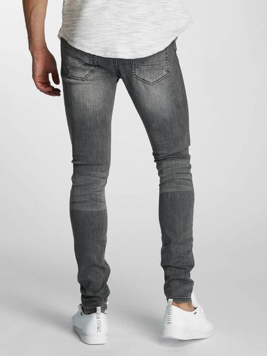 Paris Premium Slim Fit Jeans Almond grå