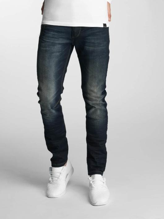 Paris Premium Straight Fit Jeans Azrael blå
