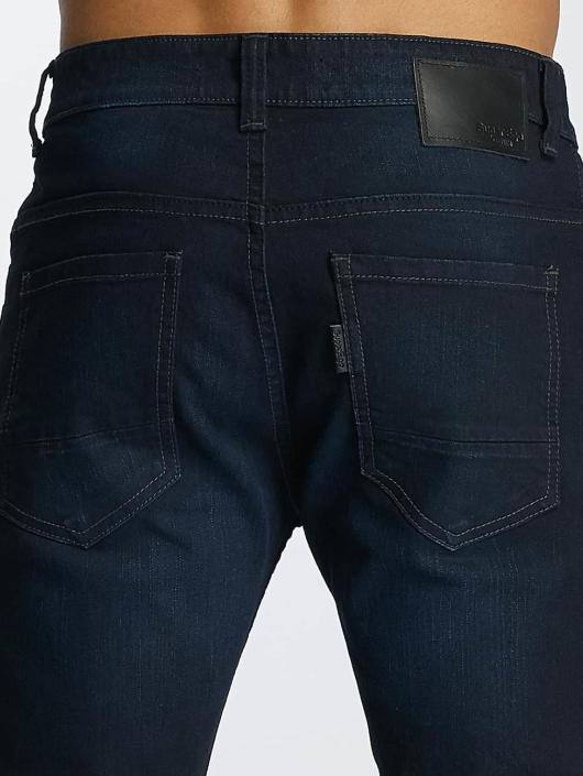 Paris Premium Straight Fit Jeans Lucifer blå