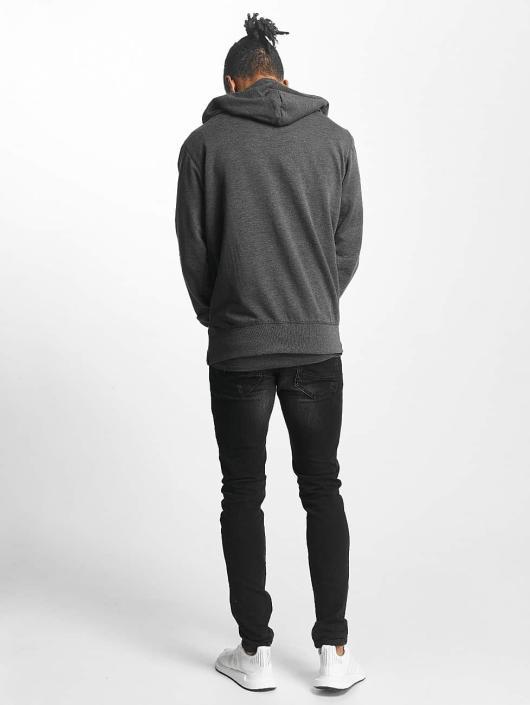 Paris Premium Sweat capuche zippé Basic gris