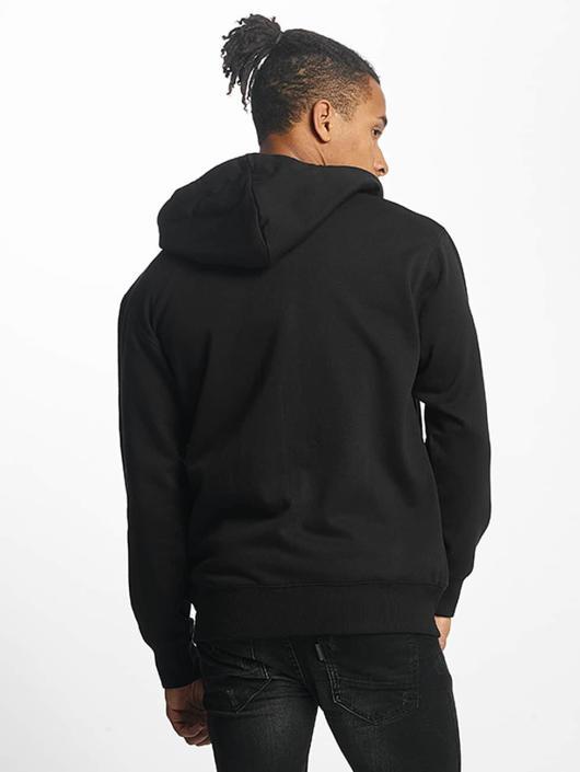 Paris Premium Sweatvest Basic zwart
