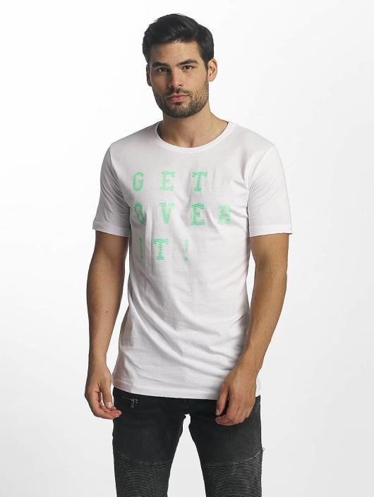 Paris Premium T-paidat Get Over It valkoinen