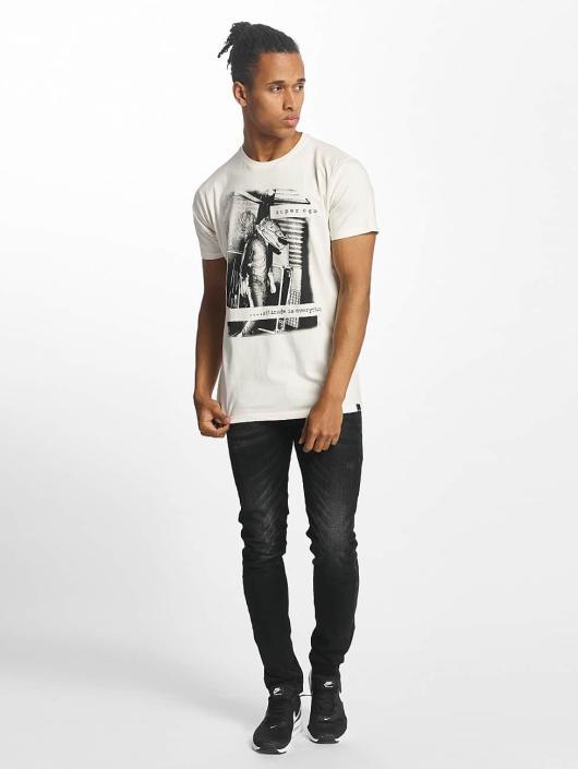 Paris Premium T-Shirt Attitude is everything blanc