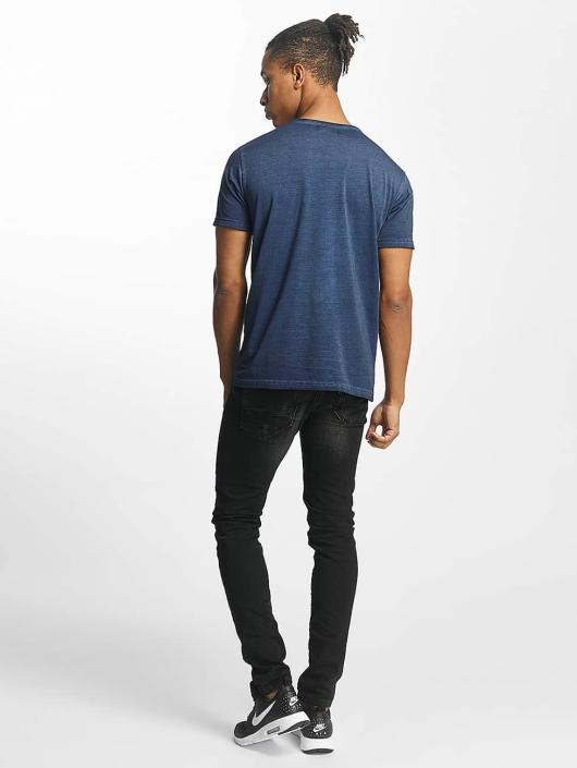 Paris Premium t-shirt Get on with it blauw