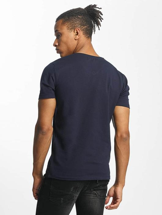Paris Premium t-shirt Basic blauw
