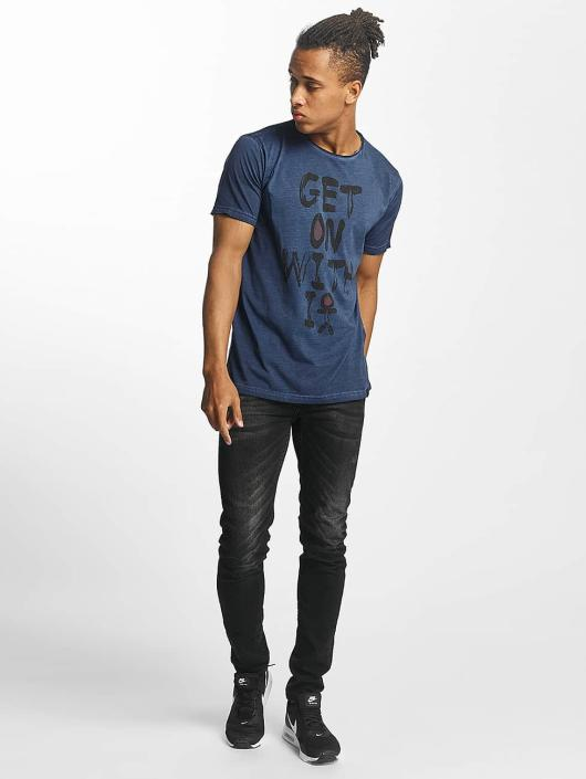 Paris Premium T-Shirt Get on with it blue