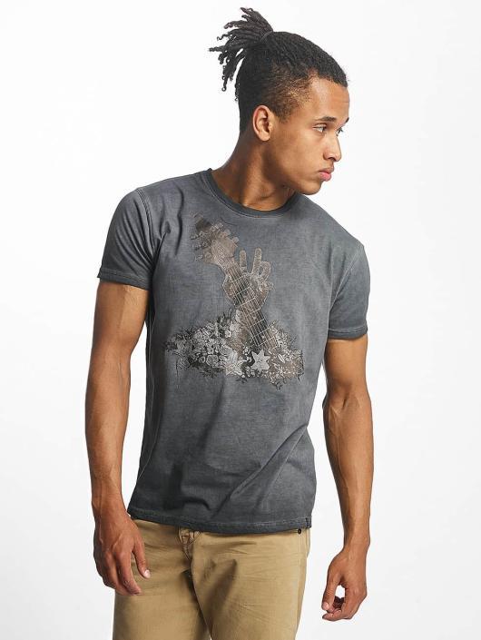 Paris Premium T-Shirt Guitar grau