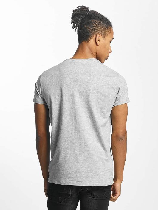 Paris Premium T-Shirt Listen! gray
