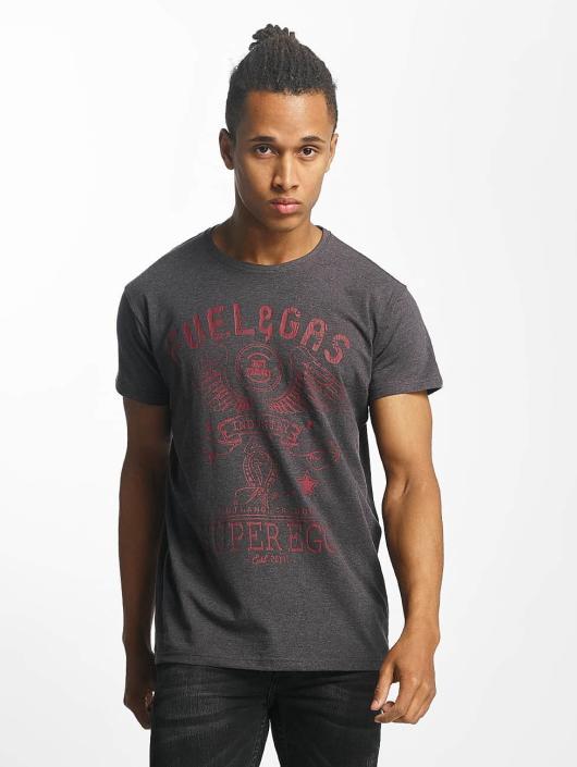 Paris Premium t-shirt Fuel & Gas grijs