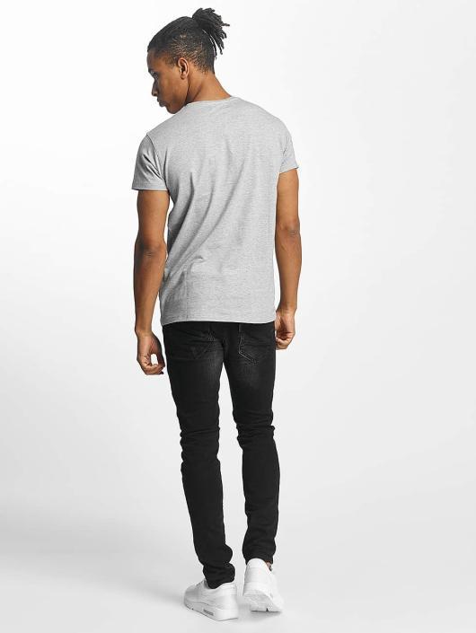 Paris Premium T-Shirt Listen! gris