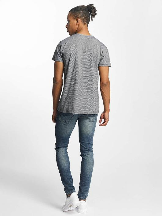 Paris Premium T-Shirt Stripe gris