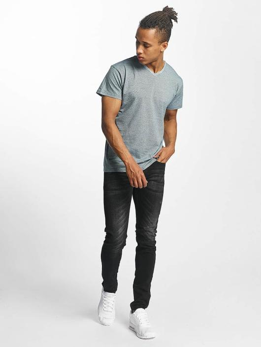 Paris Premium T-Shirt Stripe grün