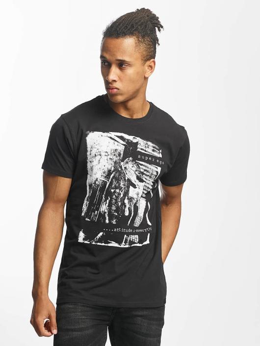 Paris Premium T-Shirt Attitude is everything noir