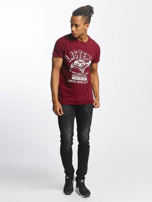 Paris Premium T-Shirt Listen! rouge