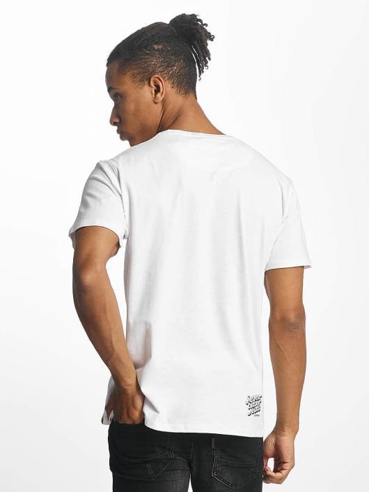 Paris Premium t-shirt Rockin' Skull wit