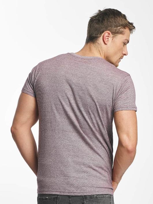 Paris Premium T-shirts Stripe rød