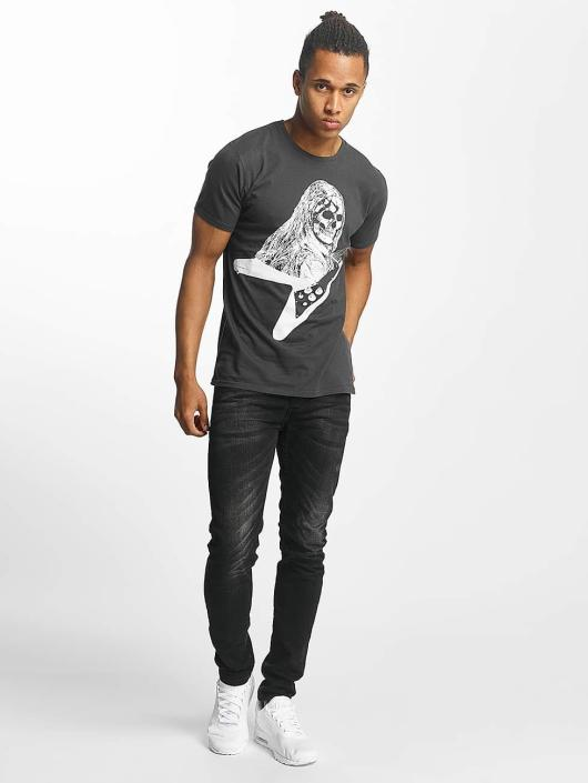 Paris Premium T-shirts Rockin' Skull sort