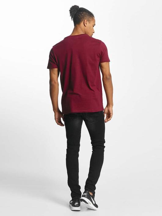 Paris Premium T-Shirty Old School czerwony
