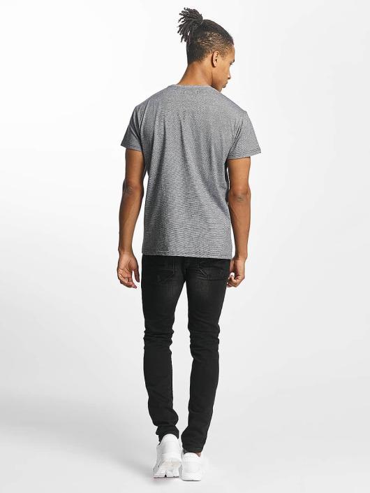 Paris Premium T-Shirty Stripe szary