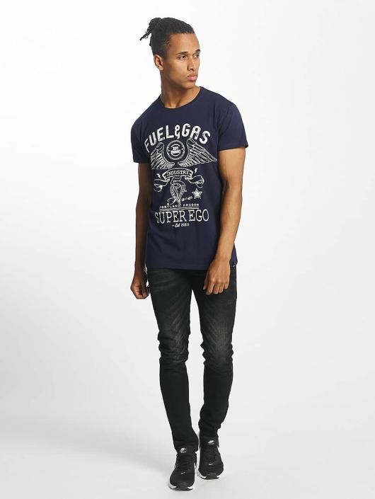 Paris Premium T-skjorter Fuel & Gas blå