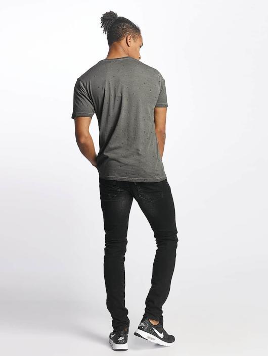 Paris Premium T-skjorter Logo grå