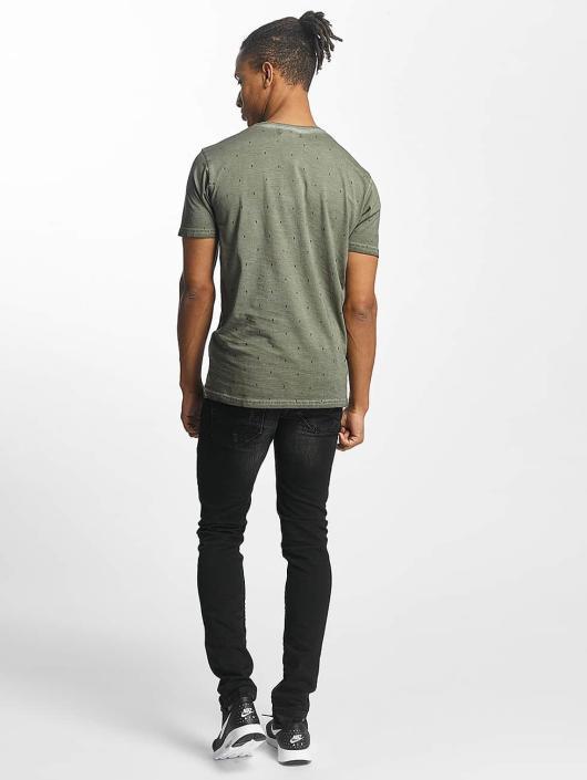 Paris Premium T-skjorter Logo khaki