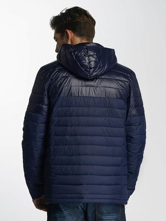 Paris Premium Winterjacke Puffy blau