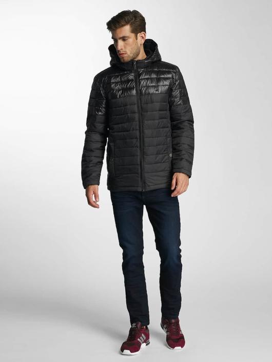 Paris Premium Winterjacke Puffy schwarz