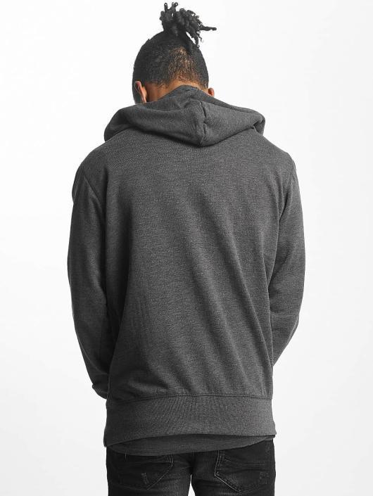 Paris Premium Zip Hoodie Basic серый