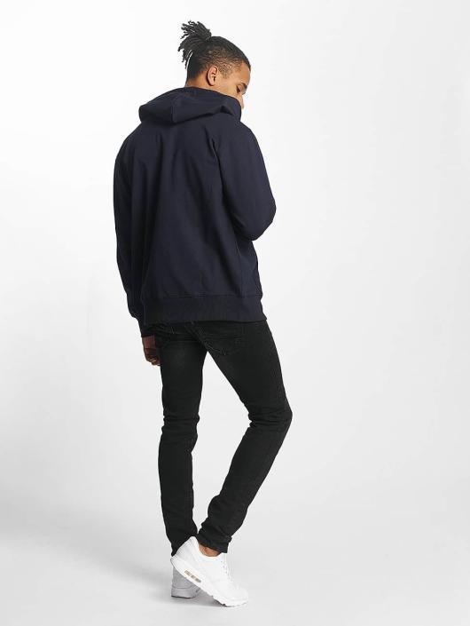 Paris Premium Zip Hoodie Basic blå