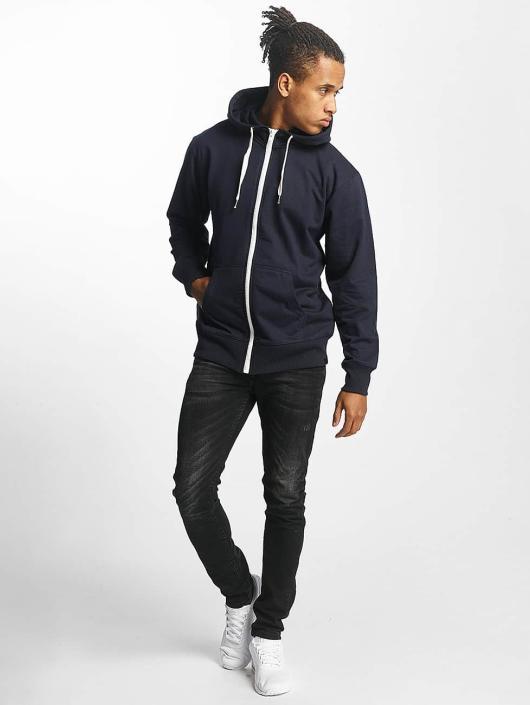 Paris Premium Zip Hoodie Basic blue